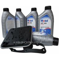 Filtr oraz olej skrzyni 4spd  atf320 chrysler sebring marki Mobil