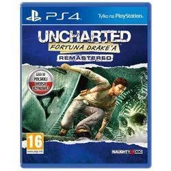 Uncharted Drake's Fortune - gra PS4
