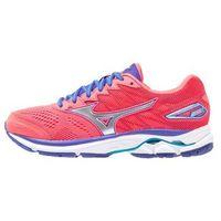 Mizuno WAVE RIDER 20 Obuwie do biegania treningowe diva pink/silver/liberty (buty do biegania) od Zalando.pl