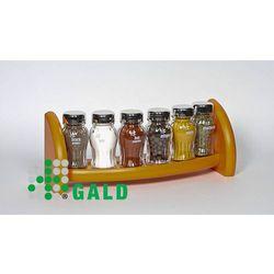 Gald  półka z przyprawami 6-el pomarańczowy połysk 5901832922063