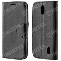 Kabura pokrowiec Fancy Series Huawei Y625 czarny - Czarny - sprawdź w wybranym sklepie