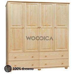 Woodica 15.szafa 4d4s 176x190x60