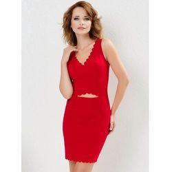 Sukienka Samantha w kolorze czerwonym
