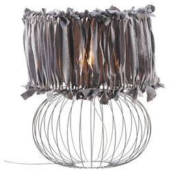 Lampa Nocna BALL ART DECO 2524 - Szary
