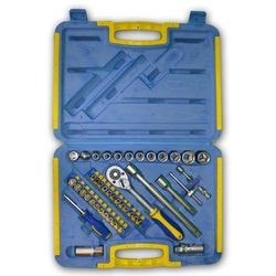 zestaw kluczy kinzo, 45 elementów w praktycznym futerale marki Kinzo