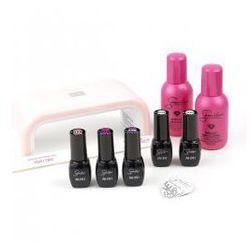 , zestaw do manicure hybrydowego, lampa 6w, 3 kolory marki Semilac