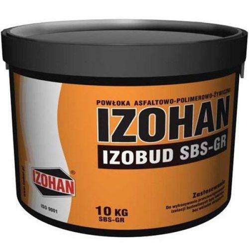 IZOBUD SBS-Gr - masa do wykonywania zewnętrznych izolacji powłokowych, modyfikowna SBSem op.10kg (izolacja i ocieplenie) od 7i9.pl Wszystko  Dla Domu