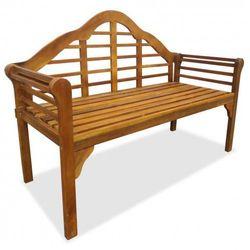 Producent: elior Drewniana ławka ogrodowa royale - brązowa