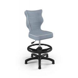 Entelo Krzesło dziecięce na wzrost 133-159cm petit black js06 rozmiar 4 wk+p