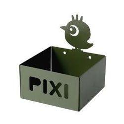 Pojemnik / półeczka Pixi - zielony Ptaszek