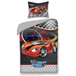 Halantex dziecięca pościel bawełniana fast wheel club auto, 140 x 200 cm, 70 x 90 cm marki 4home