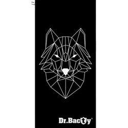 Dr.bacty xl szybkoschnący ręcznik treningowy 70x140 cm / wilk - wilk