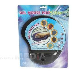 Podkładka Pod Mysz żel Gembird Granat Blister - produkt z kategorii- Podkładki pod myszy