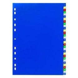 Przekładki 1-31 do segregatora Durable A4 5-kolorowe 6756-27, 82683