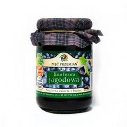 Konfitura jagodowa słodzona ksylitolem 200 g - produkt z kategorii- Dżemy i konfitury
