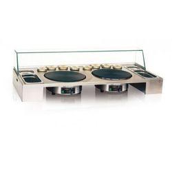Blat roboczy Krampouz® PTEA2A03 podwójny ze szkłem