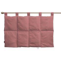 Dekoria Wezgłowie na szelkach, czerwono biała krateczka (0,5x0,5cm), 90 x 67 cm, Quadro