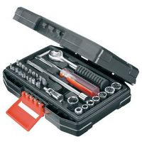 Zestaw kluczy nasadowych i bitów BLACK&DECKER A7142-XJ (33 elementy), A7142-XJ