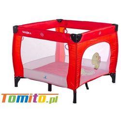 Łóżeczko kojec dla dziecka quadra red marki Caretero