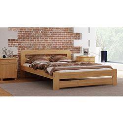 Łóżko sosnowe lidia 160x200 wyprodukowany przez Magnat - producent mebli drewnianych i materacy
