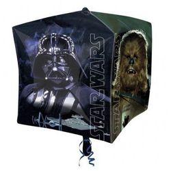 Balon foliowy sześcian Star Wars - 38 cm - 1 szt.