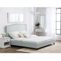 Łóżko jasnoniebieskie 140x200 cm MONTPELLIER