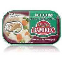 Tuńczyk portugalski z sałatką jarzynową Ramirez 120g