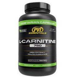 PVL ES L-Carnitine 750 Vege - 120kaps. - produkt z kategorii- Redukcja tkanki tłuszczowej