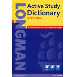 Longman Active Study Dictionary + CD-ROM (Miękka Oprawa) 5th Edition, pozycja wydawnicza