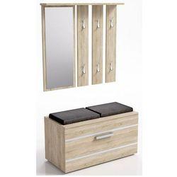 Garderoba z lustrem Malea - dąb sonoma, GS SONOMA OPAL