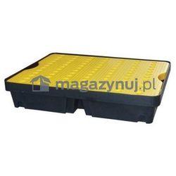 Wanna wychwytowa z żółtą kratownicą o pojemności 40 l, wym. 800 x 600 x 155 mm, kup u jednego z partner�