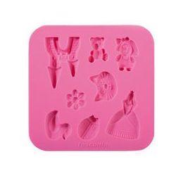 Tescoma foremki silikonowe delicia deco dla dziewczynek
