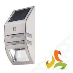 Oprawa LED, lampa solarna na elewację z czujnikiem ruchu 0,16W SMD 10lm 6500K SOPER 25751 KANLUX