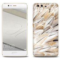 Foto Case - Huawei P10 Plus - etui na telefon Foto Case - białe pióra
