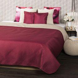 4Home Narzuta na łóżko Doubleface winny/beżowy, 220 x 240 cm, 2x 40 x 40 cm, 222278