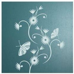 Wally - piękno dekoracji Szablon malarski kwiaty 0895