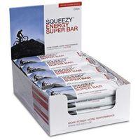 Squeezy Energy Super Bar 20szt x 50g (cola+kofeina) - pudełko z 20 batonami energetycznymi