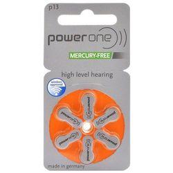 6 x baterie do aparatów słuchowych Power One Varta 13 MF, kup u jednego z partnerów