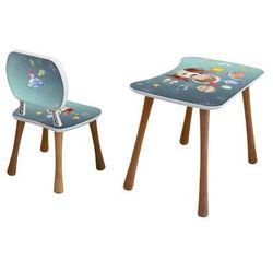 Stolik dziecięcy z krzesełkiem Kosmos, 65 x 41 x 47 cm, 693848