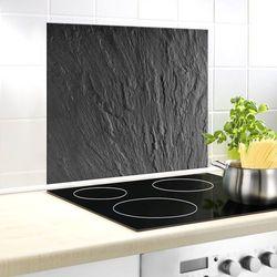 Szklana płyta ochronna SLATE na ścianę - 50 x 60 cm, WENKO, B06X6N19WC