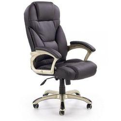 Fotel gabinetowy Halmar Desmond czarny