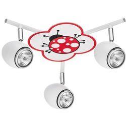 Britop lighting Lampa dla dziecka beidronka - fly biały/ chrom 3x50w gu10