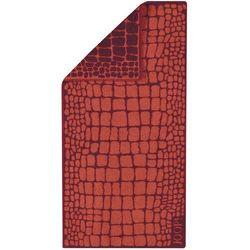 JOOP! Ręcznik Gala Croco Mohn, 50 x 100 cm