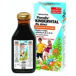 Floradix kindervital tonik dla dzieci 250 ml (lek Witaminyi minerały)