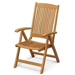 Skagerak denmark Skagerak columbus - fotel ogrodowy składany - drewno tekowe, kategoria: krzesła ogrodowe