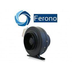 Wentylator kanałowy, metalowy 160mm, 660m3/h (fkm160) od producenta Ferono