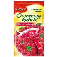 30g owocowy kubek kisiel smak malinowy marki Delecta