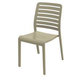 Plastikowe krzesło ogrodowe CHARLOTE