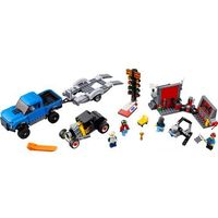 Lego SPEED CHAMPIONS Ford f-150 raptor & ford model.a hot rod champions 75875