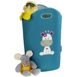 Wenko Praktyczny kosz na pranie lub zabawki wanda kids greta, o pojemności 24 l, kolor niebieski, 2 uchwyty, marka (4008838239827)